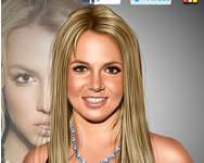 Britney Spears celebrity makeover j�t�kok